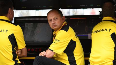 Frederic Vasseur, ex director de Renault