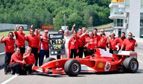 Gené bate el récord del circuito Mont Tremblant con Ferrari