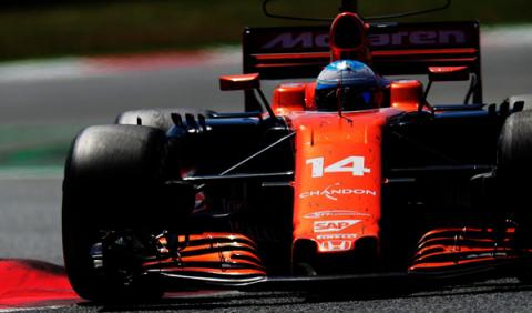 GP España 2017: Alonso acaba su primera carrera del año