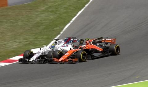 GP España: Vandoorne, sancionado por su toque con Massa