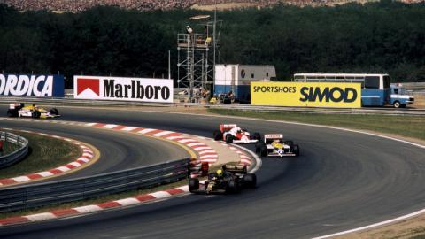 GP Hungría 1986