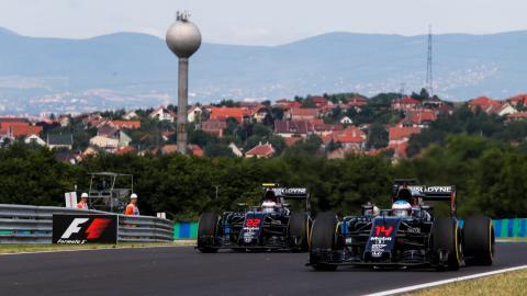 Gran Premio Hungría F1 2016
