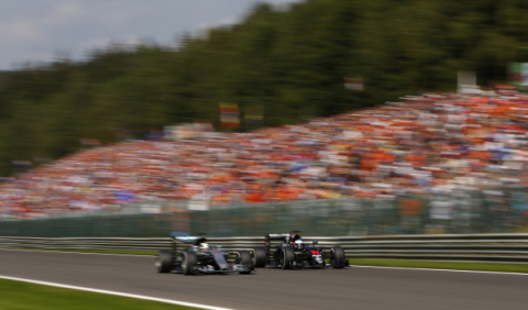 Hamilton gana a Alonso para ser el Piloto del Día de Spa