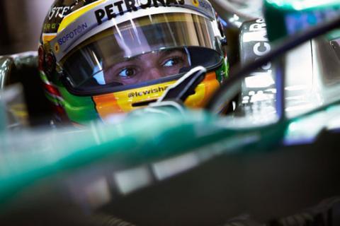 Hamilton Mercedes Tests F1 Jerez 2013