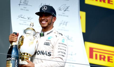 Hamilton, ante el primer asalto para ganar el Mundial