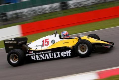 La historia de los turbo de Renault en Silverstone