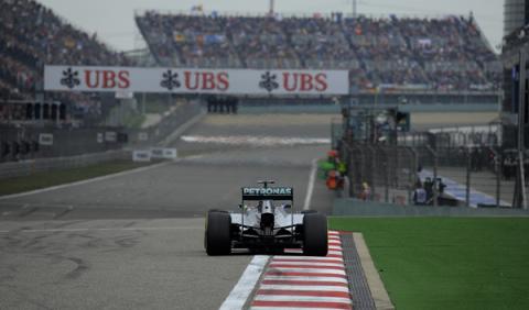 Horarios del GP China F1 en Antena 3 y Movistar TV