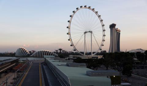 Horarios del GP Singapur 2015 en Antena 3 y Movistar F1