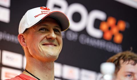 Intentan vender una foto de Schumacher por 1 millón euros