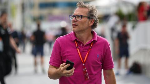 Jacques Villeneuve, durante el GP de Austria