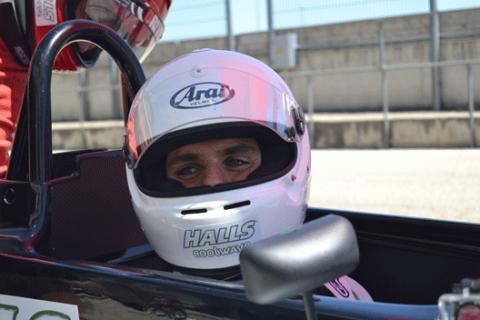 Jaime Alguersuari en el Circuito del Jarama