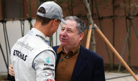 """Jean Todt: """"la situación de Schumacher es dolorosa"""""""