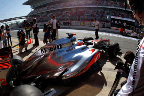 Jenson Buton - McLaren - GP España - 2012