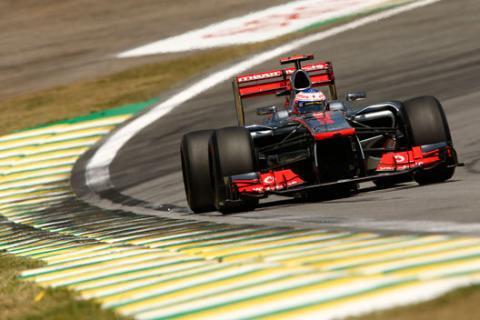 Jenson Button - McLaren - GP Brasil 2012
