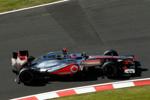 Jenson Button - McLaren - GP Japón - 2012