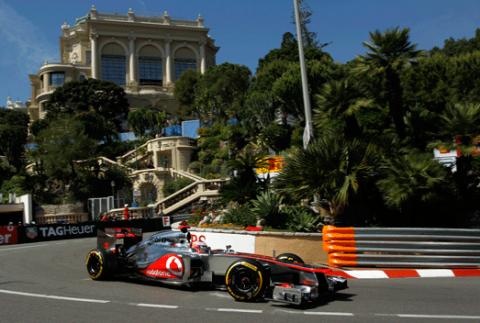 Jenson Button - McLaren - GP Monaco 2012