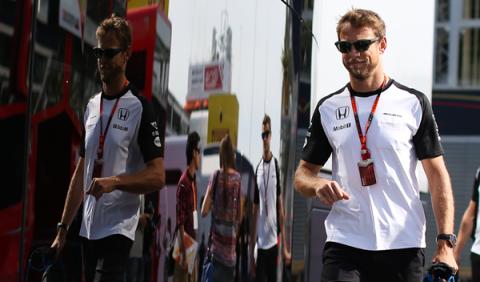 """Jenson Button: """"no creo que puntuemos esta temporada"""""""