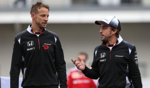 Jenson Button, optimista en su vuelta a la Fórmula 1