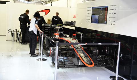 Jenson Button se queda sin participar en el GP de Bahréin
