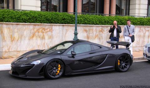 Jenson Button ya tiene su McLaren P1