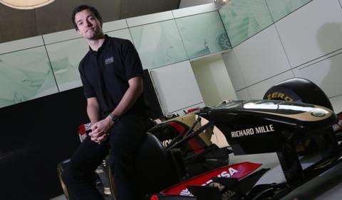 Jolyon Palmer se convierte en piloto reserva de Lotus