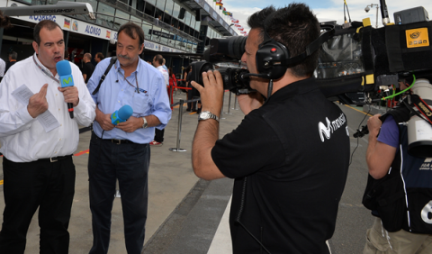 Josep Lluís Merlos deja de ser la voz de la F1 en Movistar