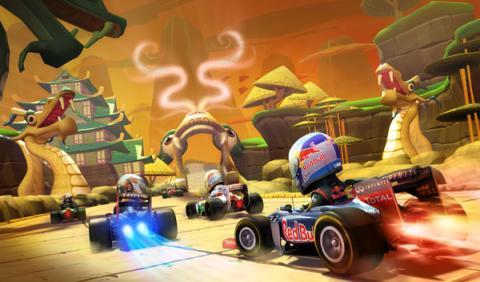 Juego. F1 Race Stars: powered up edition en Nintendo Wii U