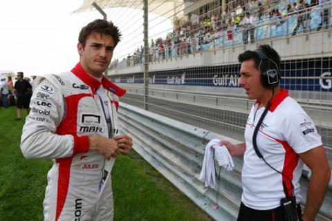 Jules Bianchi Marussia 2013
