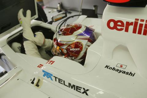 Kamui Kobayashi - Sauber - Brasil 2012