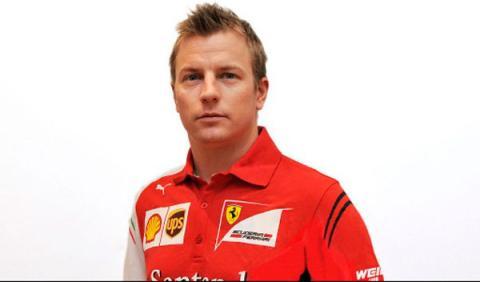 Kimi Räikkönen entrena ya con el simulador de Ferrari