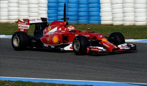 raikkonen-ferrari-tests-f1-jerez-2014