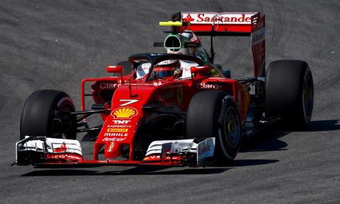 Kimi Räikkönen, con halo