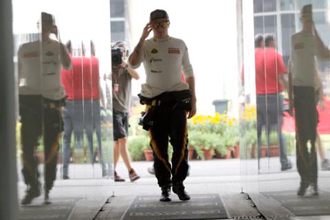 Kimi Raikkonen - Lotus - 2012