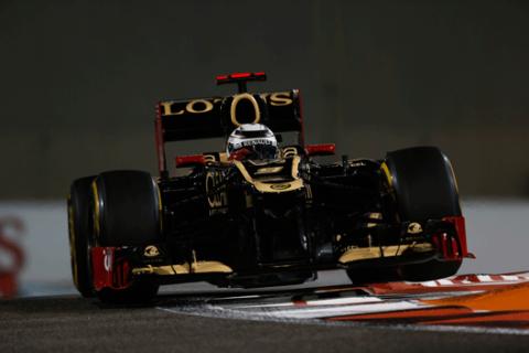 Kimi Raikkonen - Lotus - Abu Dabi