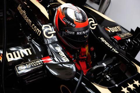 Kimi Raikkonen Lotus Bahrein 2013