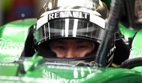 Kobayashi quiere el asiento de Merhi en Manor