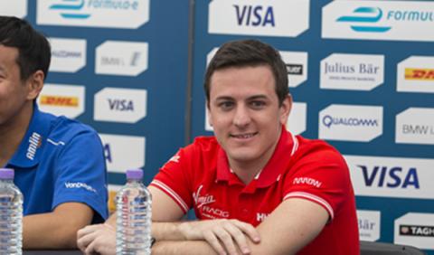 Leimer, en el asiento de Merhi en los Libres 1 de Hungría