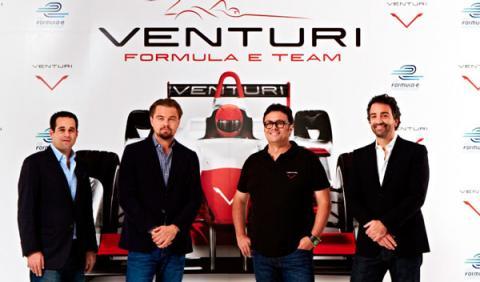Leonardo di Caprio tendrá un equipo en la Fórmula E