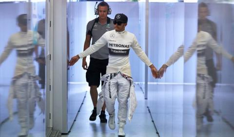 """Lewis Hamilton: """"Es imposible predecir nada"""""""