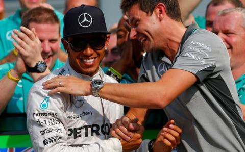 """Lewis Hamilton: """"Ha sido una carrera difícil"""""""