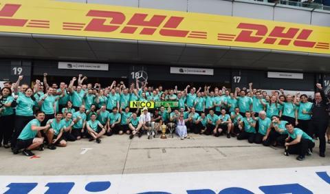 """Lewis Hamilton: """"ha sido un día inolvidable"""""""