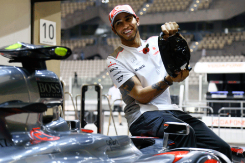 Lewis Hamilton - McLaren - Abu Dabi 2012