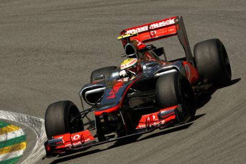 Lewis Hamilton - McLaren - GP Brasil 2012