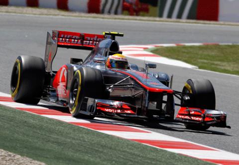 Lewis Hamilton - McLaren - GP España 2012