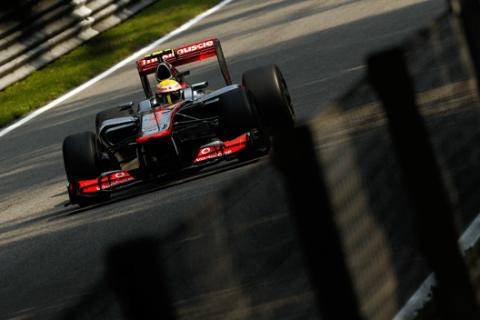 Lewis Hamilton - McLaren - GP Italia 2012 - Monza