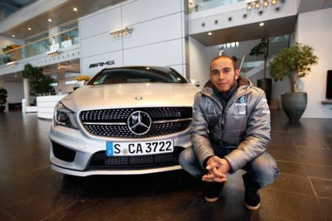 Lewis Hamilton - Mercedes - 2013