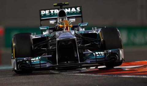 Lewis Hamilton -  Mercedes 2013