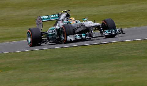 Lewis Hamilton Mercedes Silverstone