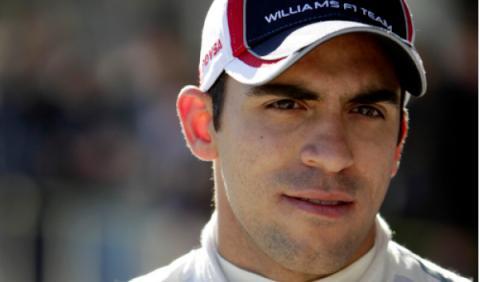 Maldonado consigue el mejor tiempo con Williams