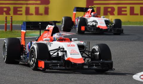 Manor F1, con motores Mercedes y piezas de Williams en 2016